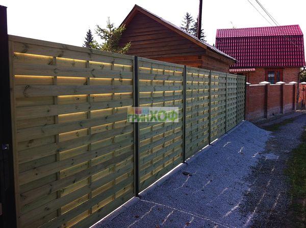 Ворота продуваемые ворота с метало профиля